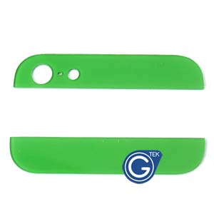 iPhone 5 Top and Bottom bezel part set of Back cover in Green