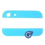 iPhone 5 Top and Bottom bezel part set of Back cover in Light Blue