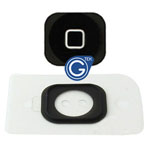 iPhone 5 home button with spacer black