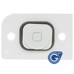 iPhone 5 home button with spacer white
