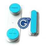 iPhone 5 Power button & volume button 2pcs set in white - Replacement compatible part