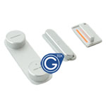 iPhone 5 Power button, Volume button & Mute Button 3pcs set in white
