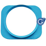 iPhone 5 white home button with Blue chrome ring