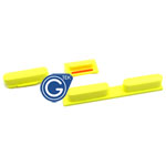 iPhone 5C Side Button Set in Yellow (Power ,Volume and Mute Button )