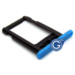 iPhone 5C Sim Holder in Blue- Replacement part (compatible)