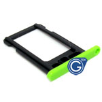 iPhone 5C sim holder green