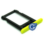 iPhone 5C sim holder yellow