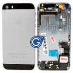 iPhone 5s Back Cover with Parts in Black - Replacement part (compatible)