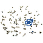 iPhone 5S Complete Screw Set with 2Pcs Silver Bottom Screw