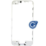 iPhone 5S Plastic Front frame in white