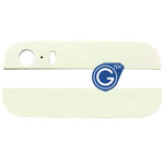 iPhone 5S Top and Bottom bezel part set of Back cover in White