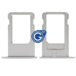 iPhone 6 plus Sim Tray in Silver - Replacement part (compatible)