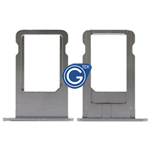 iPhone 6 plus Sim Tray in Space Gray - Replacement part (compatible)