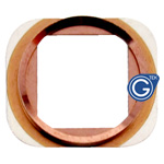 iPhone 6S Home Button Chrome Ring in Rose Gold