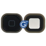 iPod Touch 5 Home Button with Spacer Complete in Black