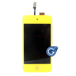 iPod touch 4 Complete LCD with Digitizer in Yellow - Replacement part (compatible)