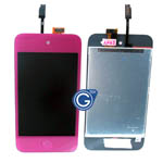 iPod touch 4 Complete LCD with Digitizer in Purple- Replacement part (compatible)