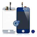 iPod touch 4 Complete LCD with Digitizer in Dark Blue