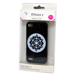 iglaze 4 Star Design Back Cover Case for iPhone 4/4S in Black