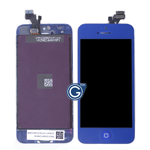 iPhone 5 LCD and Digitizer with Frame in Dark Blue with Home Button