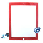 iPad 2 Digitizer Touchpad in Red- Compatible Part