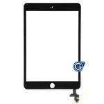 iPad Mini 3 Digitizer Touchscreen with IC, Adhesive, Camera Bracket in Black - Use your existing home button, click here for video tutorial