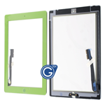 iPad 3/4 Digitizer Touchpad in Green- Replacement Part (compatible)