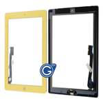 iPad 3/4 Digitizer Touchpad in Yellow- Replacement Part (compatible)