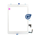 iPad Air Digitizer in White with Parts HQ - Note: Please use your existing home button otherwise will not function to sleep mode - AG factory