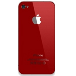 iPhone 4S battery cover in Red