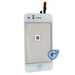 iphone 3G digitizer with home button & mute button in white