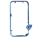 iPhone 3G 3GS metal bezel blue