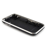 iPhone 3Gs 32Gb Black Back Cover with Chrome Bezel