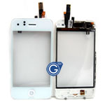 iPhone 3G digitizer with frame complete white
