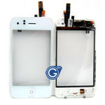 iPhone 3GS digitizer With Midframe Complete and Home button in White