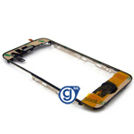 iPhone 3gs Midframe Complete Including Home button, home button flex, Adhesive rim, Bracket, Clips, Mesh & Speaker