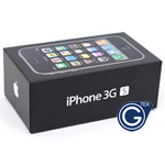 iPhone 3GS Original Mobile Phone Box - Black