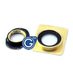 iphone 4 4s gold camera ring set- Replacement compatible part