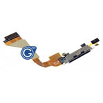 iPhone 4 System Charge Connector in Black - Replacement part (compatible)