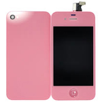 iPhone 4 Complete LCD and Battery Cover set in Pink