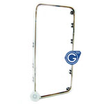 iPhone 4 mid frame with home button in white- Replacement part (compatible)