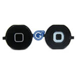 iPhone 4s home button black- replacement part (compatible)