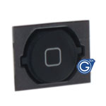 iPhone 4S home button with spacer complete black-Replacement part (Compatible)