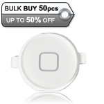 50pcs iPhone 4S Home Button White