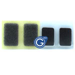 iPhone 4s sponge gasket 2pcs set for earphone flex-Replacement part (compatible)
