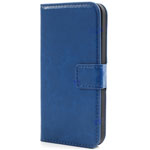 Fuera iPhone 5 Flip Leather Case in Dark Blue (minimum order 2 pcs)