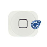 iPhone 5 Home button  in white- Replacement compatible part