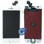 iPhone 5 Complete LCD and Digitizer Assembly in White (HQ)-Replacement part (Compatible)