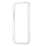 White and Transparent Bumper Case for iPhone 5C (minimum order 2 pcs)