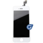 iPhone 5S Complete LCD and Digitizer Assembly in White (HQ)